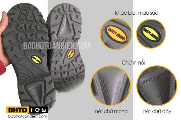 Hướng dẫn nhận biết giày bảo hộ Jogger giả