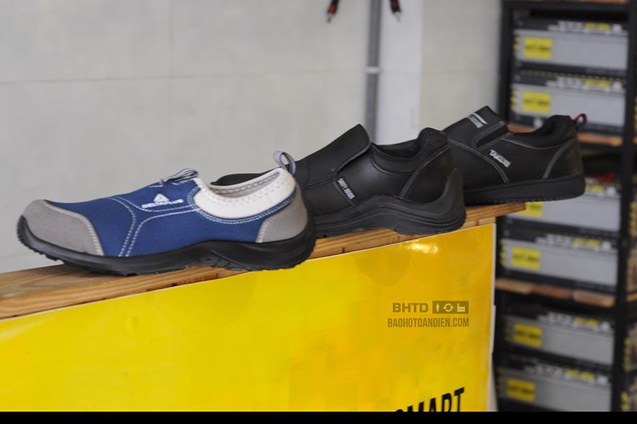 Vì sao giày bảo hộ lao động rất hiếm mẫu không dây?