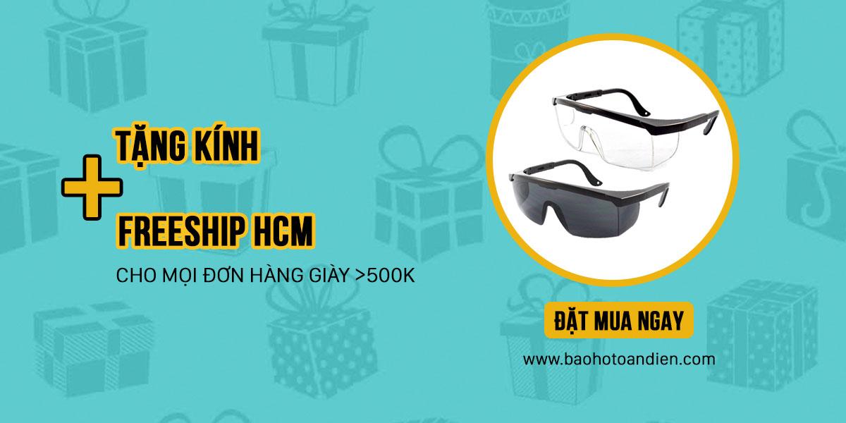 BHTD – Ưu đãi tháng 6 – Tặng kính và Freeship HCM cho mọi đơn hàng giày