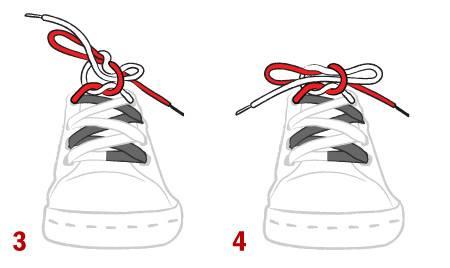 Cách buộc dây giày đúng cách để không bị tuột