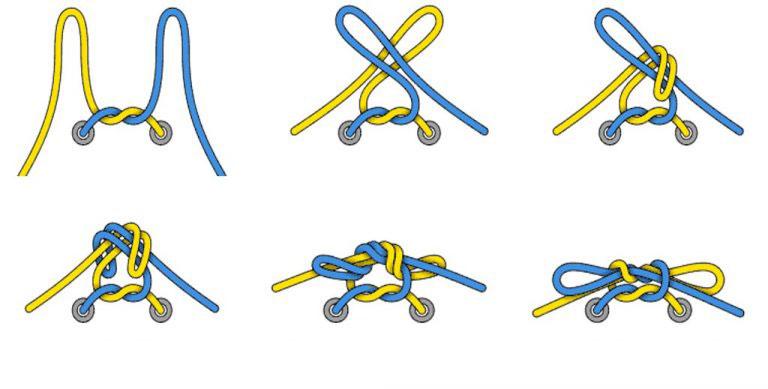 Hướng dẫn cách buộc dây giày nhanh, không bị tuột