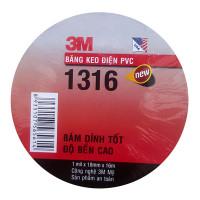 Băng keo điện PVC cực bền siêu dính 18mm x 16m 3M 1316
