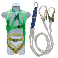 Bộ dây đai toàn thân chống sốc 2 móc thép Adela