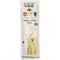 Găng tay cao su Cầu Vồng (dài, màu kem)