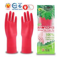Găng tay cao su Nam Long size trung