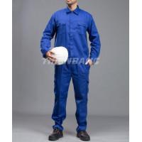 Quần áo công nhân xanh dương