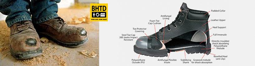 Giày bảo hộ lao động chính hãng tại Bảo hộ toàn diện