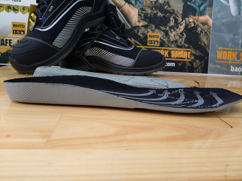 Tấm lót Jogger Impact Foam củagiày Safety Jogger Dynamica