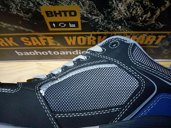 Thân giày Raptor được cấu tạo bởi 2 thành phần chính là Mesh Nylon và Latex.